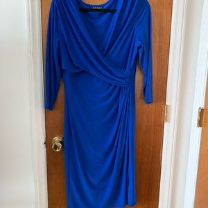 Lauren Ralph Lauren Blue Dress